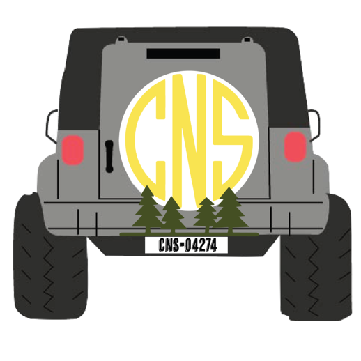 Camp North Star Maine Redbubble Jeep