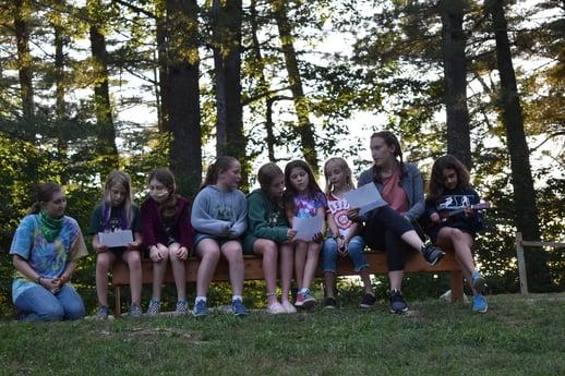 Camp North Star Maine Campfire